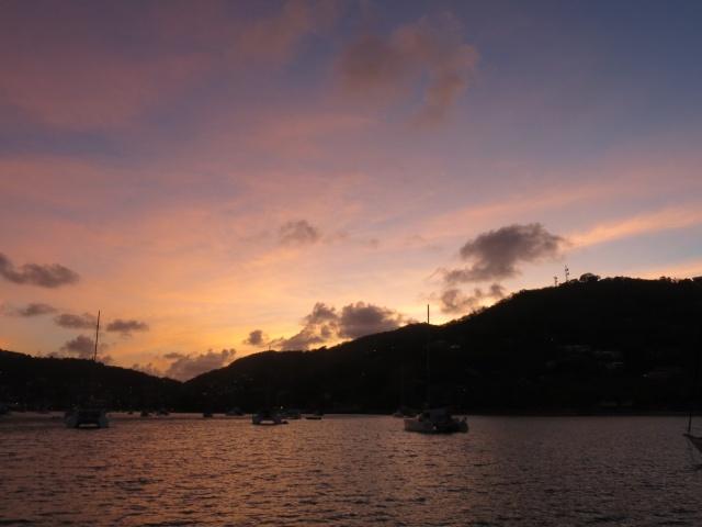 Bequia sunrise