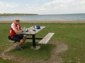 Lunch at Gull Lake