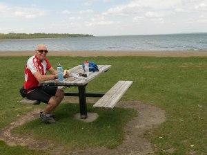 Lunch at Gull Lake