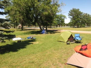 Campground in Portage La Prairie