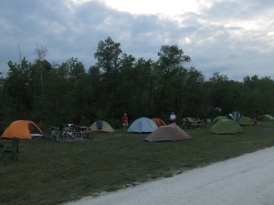 Camp in Beausejour