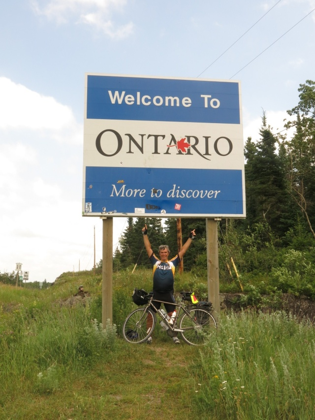 Arrival in Ontario