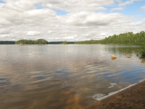 Lake at Quetico Provincial Park