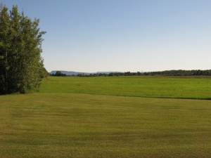 Farmland north of Thunder Bay