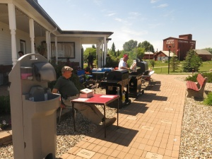 Barbeque in Esterhazy