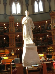 Queen Victoria in Library