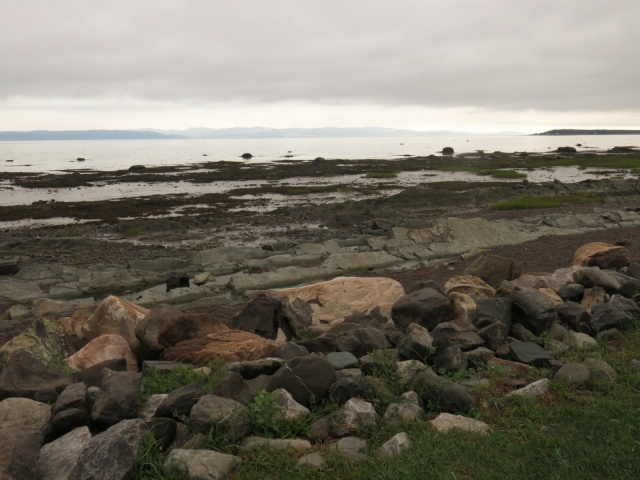 Looking across St. Lawrence