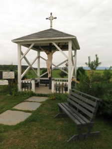 One of countless roadside shrines found all over Quebec