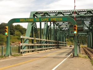 Bridge on the Canso Causeway