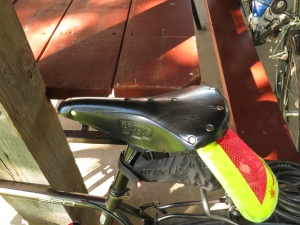My new Brooks B17 saddle