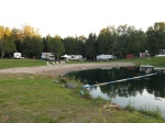 Pond at campground
