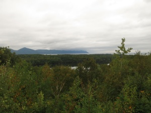 View from Hideaway Campground