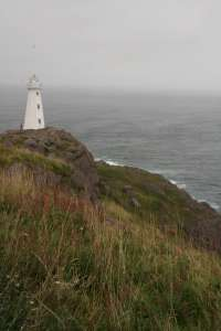 New lighthouse at Cape Spear
