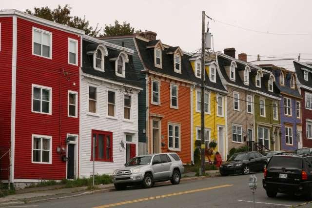 St. John's street scene