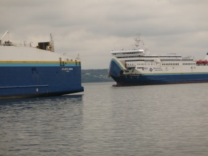 Another ferry arriving