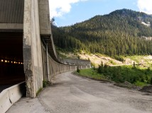 Snowshed on Coquihalla Highway, BC