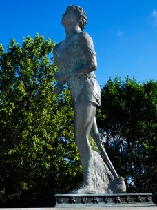Terry Fox Statue, east of Thunder Bay, ON