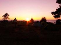 Sunset, Lower Barney's River, NB
