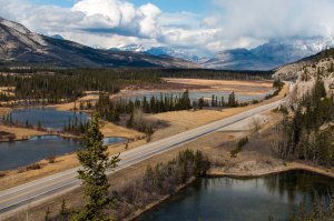 view of Yellowhead Highway