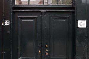 Anne Frank House doorway