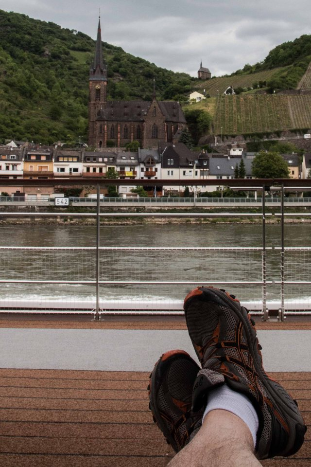 Kickin' back on the Middle Rhine
