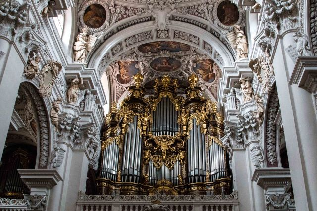 Pipe Organ, St. Stephen's Cathedral