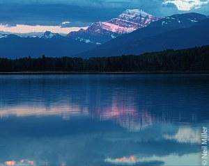 Mt. Edith Cavell at sunrise
