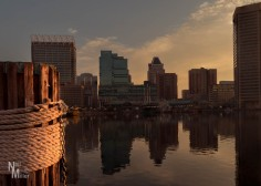 Baltimore sunrise