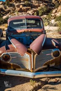 Old car body