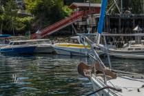Government wharf, Egmont