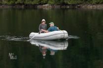 Rick & Linda exploring Melanie Cove
