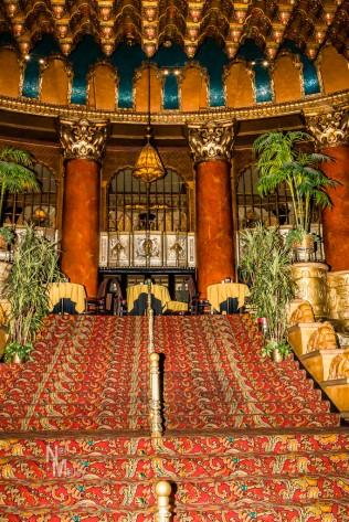 Main stairway from lobby