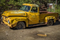 Old truck at Gold Mine