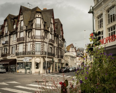 Street in Trouville