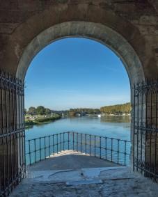 View from a pillar