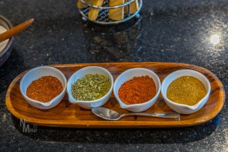 Some of the spices we used