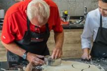 Preparing empanadas